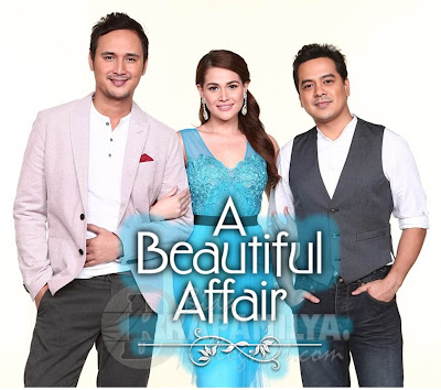 A Beautiful Affair lead stars - John Estrada, Bea Alonzo and John Lloyd Cruz