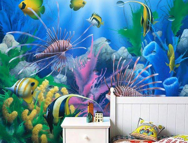 Akvaario tapetti