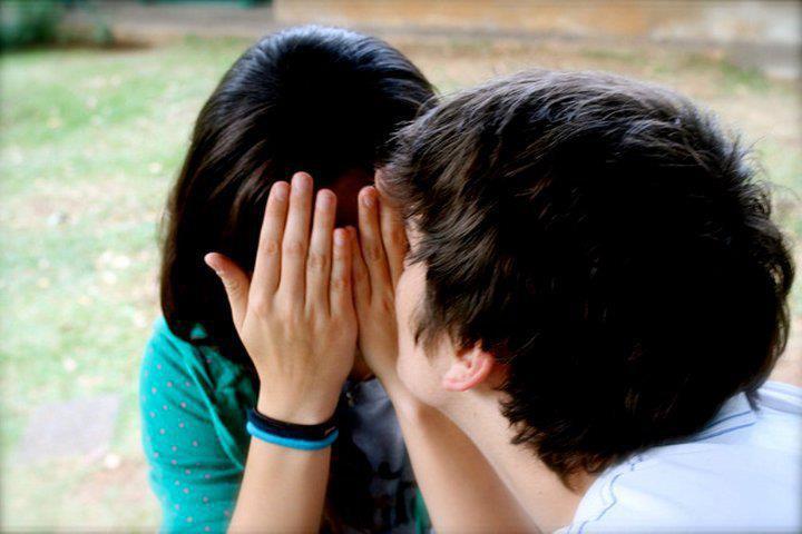 sad couples in love