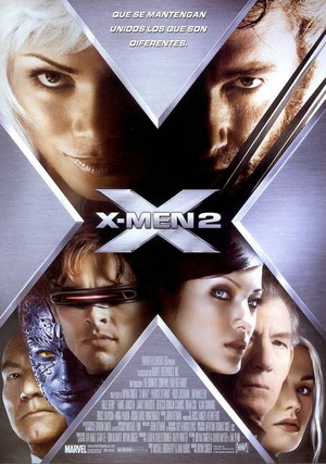 Poster X2: X-Men United 2003