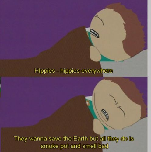 Hippies Hippies Everywhere
