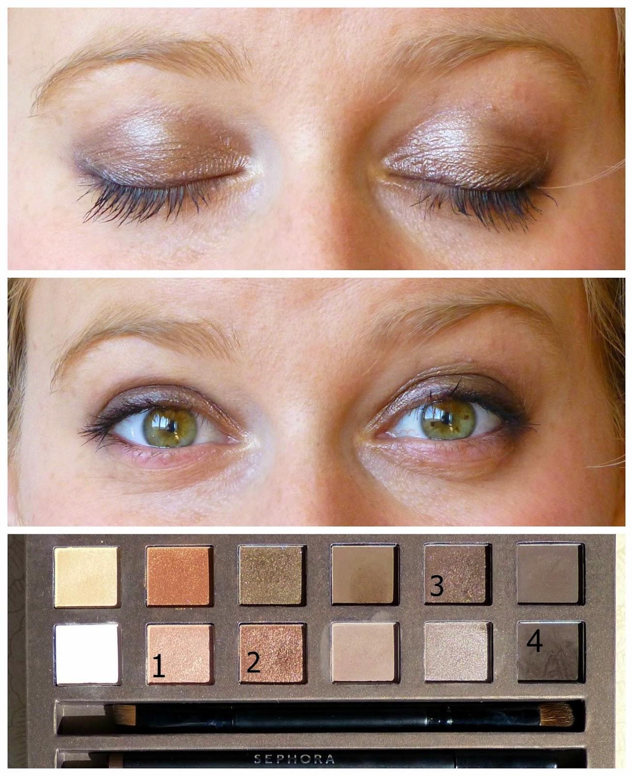 maquillage nude chic gr ce la it palette sephora superfici 39 elle. Black Bedroom Furniture Sets. Home Design Ideas