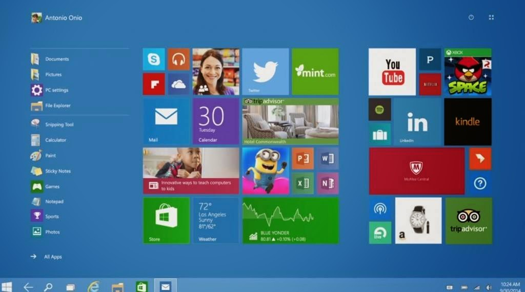 Windows-10-Start-Menu