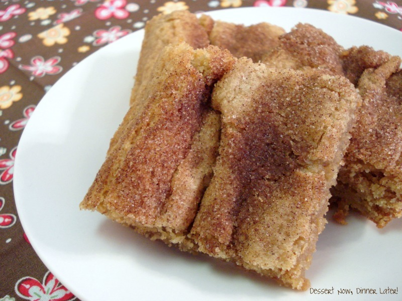Cinnamon brown sugar bars dessert now dinner later recipe via who needs a cape renamed to suit the dessert better forumfinder Images