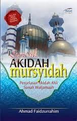 SYARAH AKIDAH MURSYIDAH AKIDAH SULTAN SOLAHUDDIN -Karangan ustaz Ahmad-