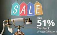 Buy Vintage Gadgets Collections at Flat 51% Cashback : BuyToEarn