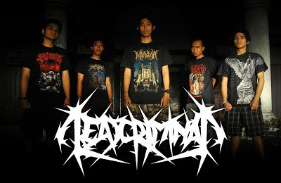 Dead Criminal Band Death Metal Sidoarjo Foto Personil Logo Artwork Cover Artwork Wallpaper