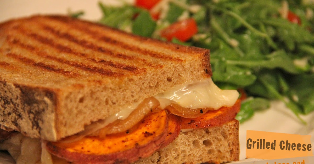 The Tale of a Mermaid : Grilled Cheese with Sweet Potatoes and Maui ...