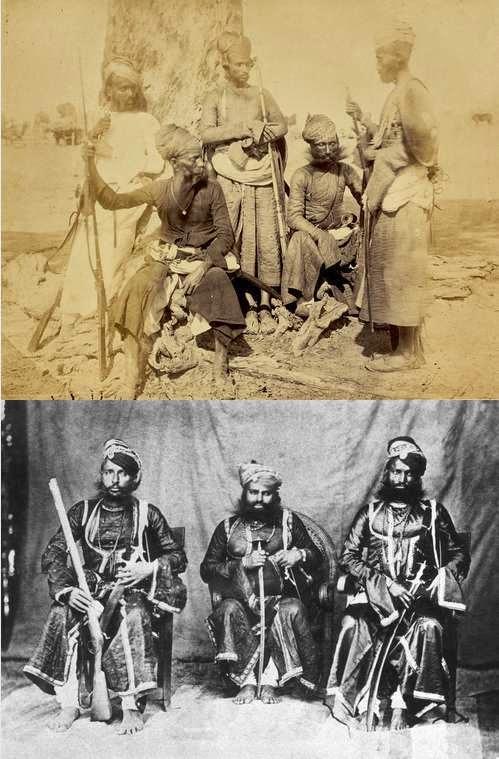Guerreros Rajputs. Los rajputs de fe hindú, mantuvieron un crudelísimo conflicto con los musulmanes. Son conocidos como los samurias de la antigua India. No podían sobrevivir a una derrota