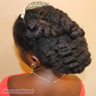 4 Simple Little Bride Wedding Hairstyles