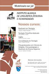 CONHEÇA O IALTH: INST. ALIANÇA DE LINGUÍSTICA, TEOLOGIA E HUMANIDADES (RECIFE/PE)