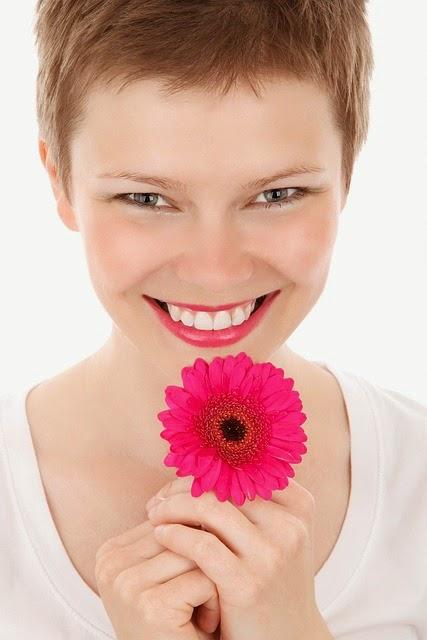 Una hermosa sonrisa