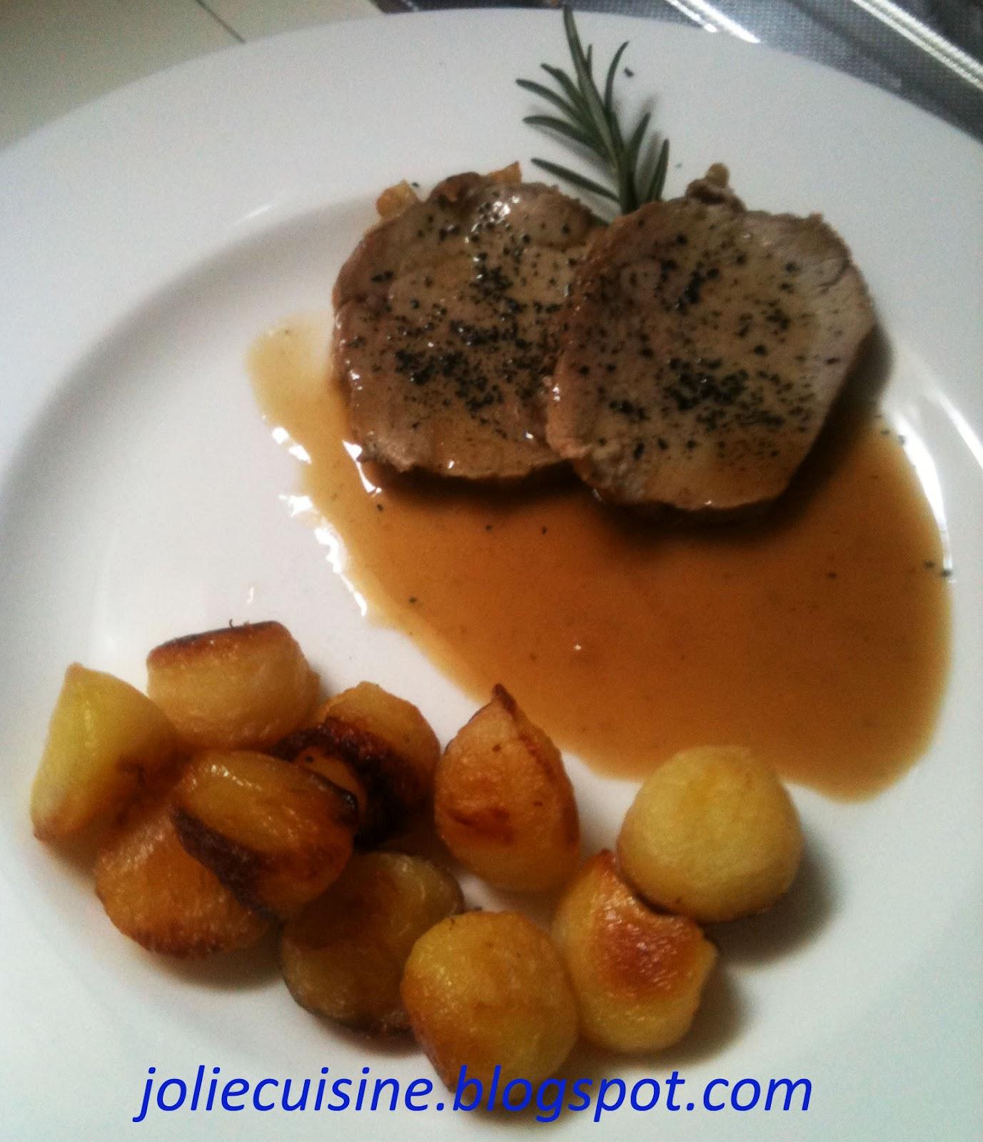 Jolie cuisine arrosto di vitello glassato - Jolie cuisine ...