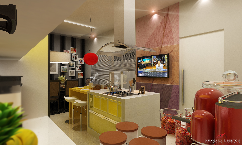cozinha amarela daquelas de novela !!! confira aqui meu novo projeto #B0281B 1500 900