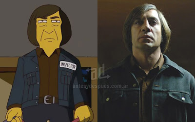 Javier Bardem simpsons artis+kartun Tokoh tokoh selebriti dalam serial kartun The Simpson