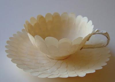 Xícara de papel - Cecília Levy