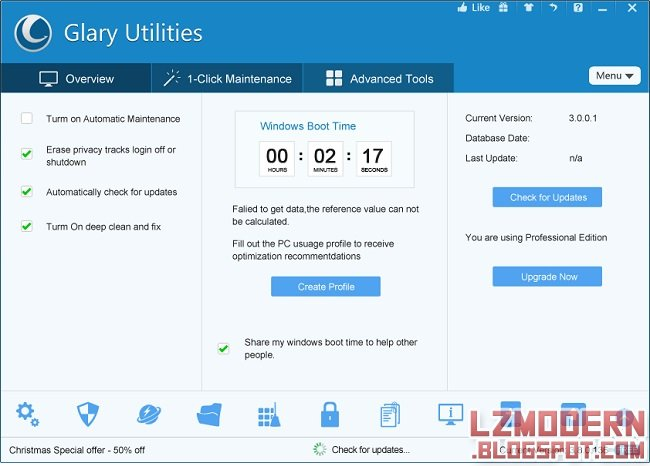 Download Glary Utilities Pro Full Version Gratis dan Legal