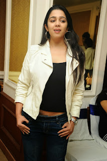 Actress Charmi Kaur Pictures in Jeans at One by Two Movie Celetes 20 Years Event  0144.jpg