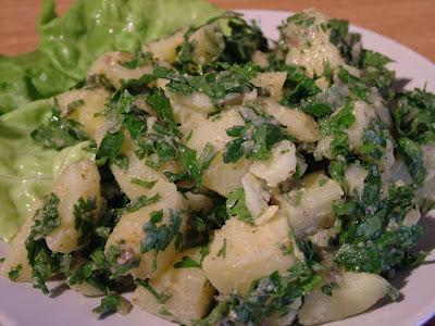 Ziemniaki w marynacie musztardowej