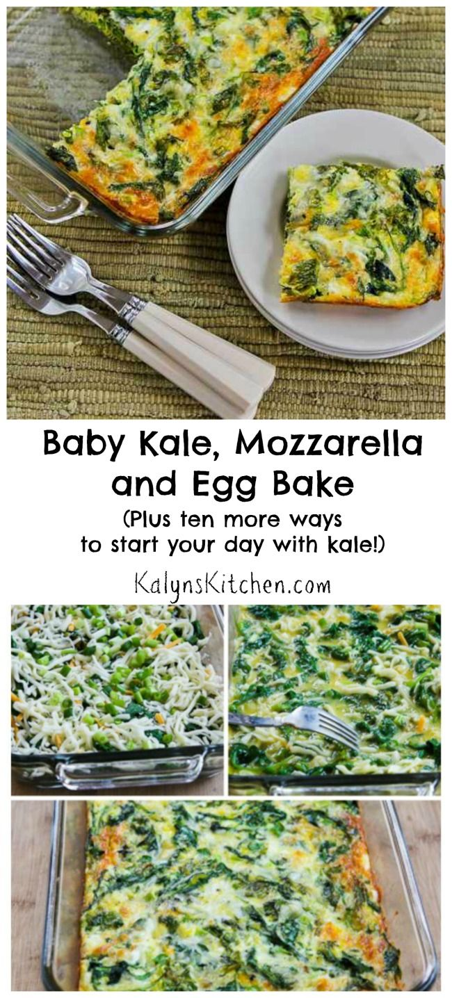 mozzarella and egg bake chicken garlic sausage kale and mozzarella egg ...
