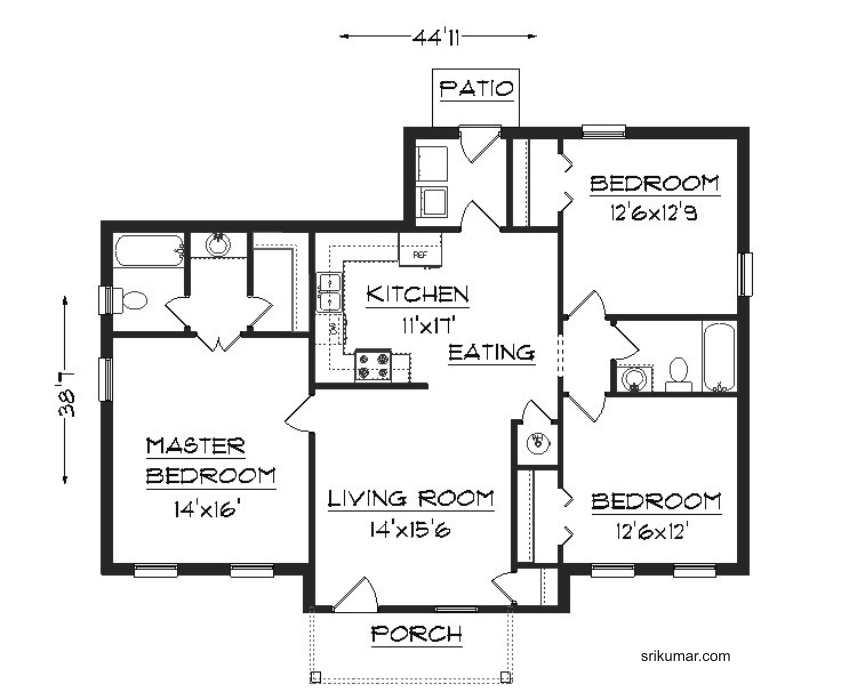 rumah minimalis ini untuk rujukan dalam mewujudkan rumah idaman anda