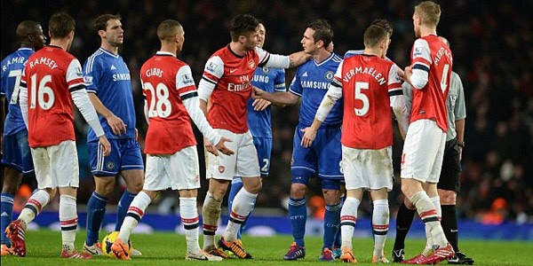 Prediksi Skor Chelsea vs Arsenal 22 Maret 2014 - Big Match Derby London