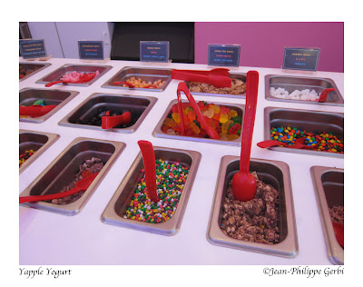 Image of Toppings at Yapple Frozen Yogurt in Westfield, NJ
