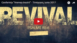 "Aurel Gheorghe — Conferința ""Vremea trezirii"" - Timișoara, iunie 2017"