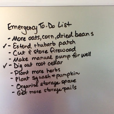 An Emergency Preparedness To-Do List