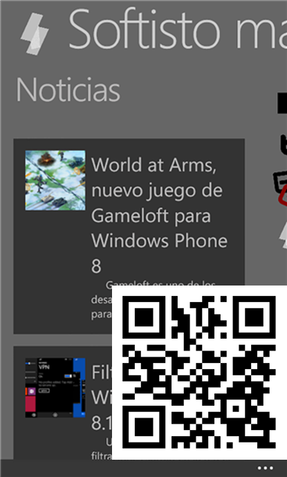 Softisto magazine en Windows Phone 8