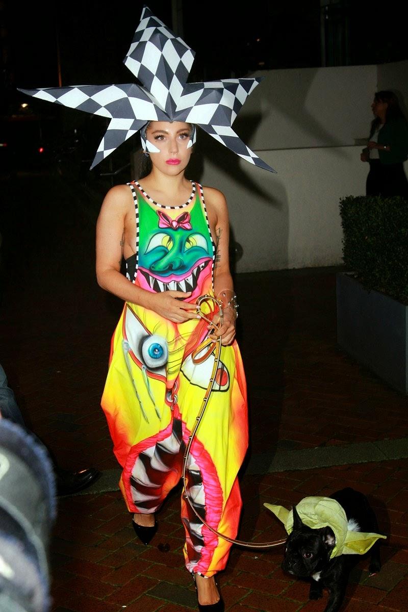 9 Fesyen Pelik Lady Gaga Ketika Bersantai, info, terkini, hiburan, sensasi, Lady Gaga, Hollywood celebrities