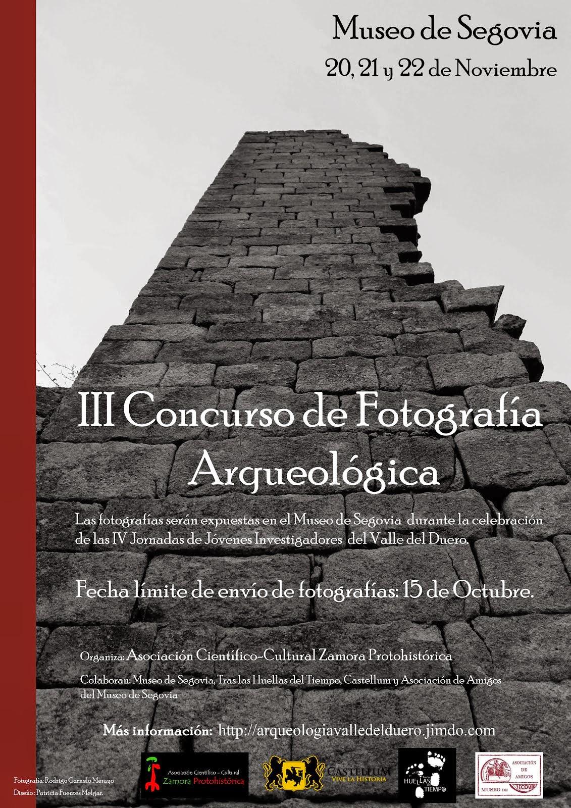 III Concurso de Fotografia Arqueológica Zamoraprotohistorica