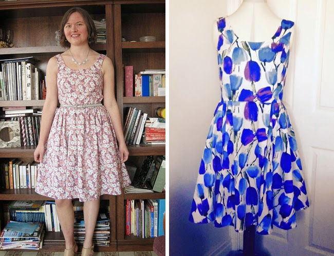Lilou dress - sewing pattern in Love at First Stitch