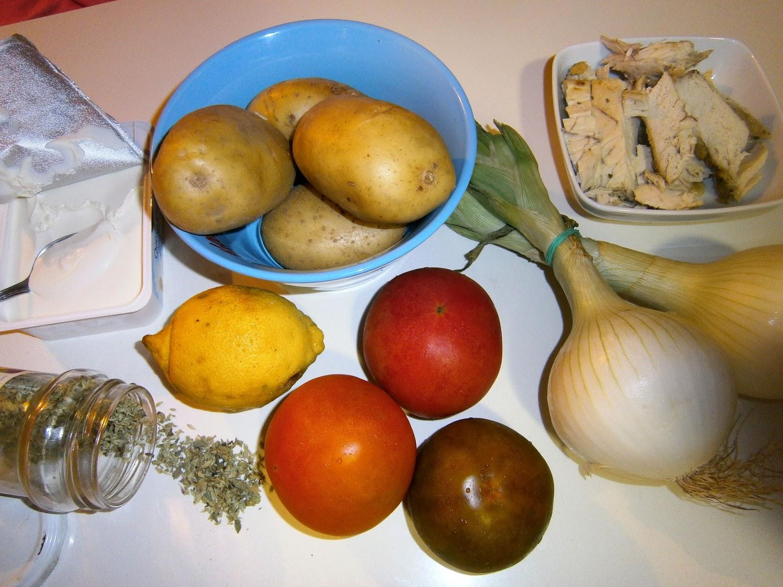 Ensalada de patata y bonito estilo jamie oliver la for Cocina 5 ingredientes jamie