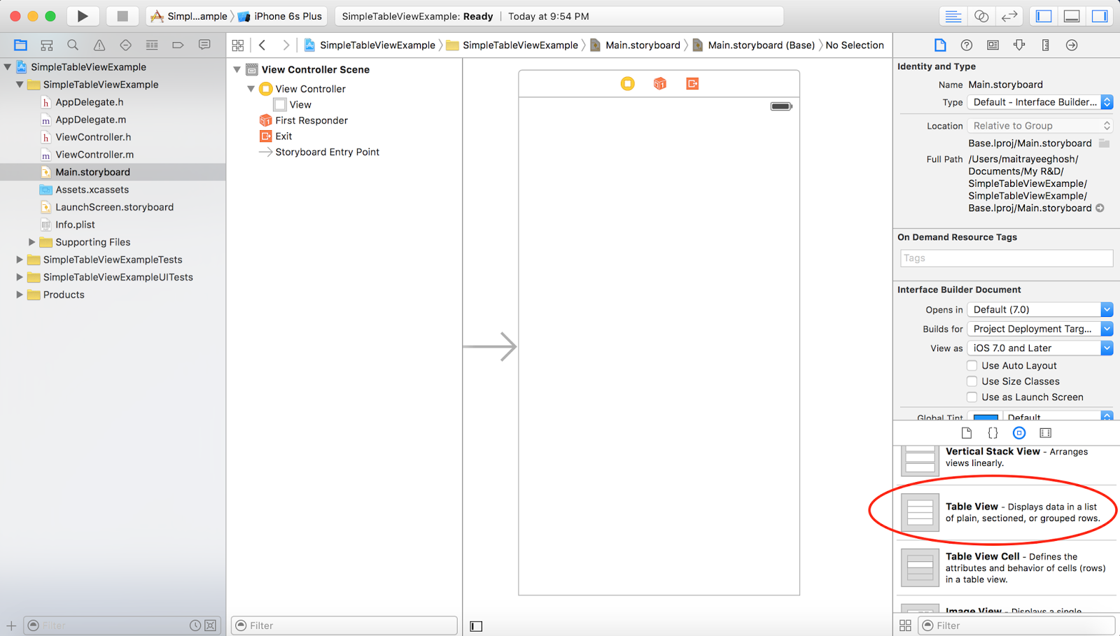 how to create an ios app in xcode