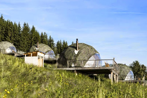 Whitepod: Great Design and Eco-luxury Hotel