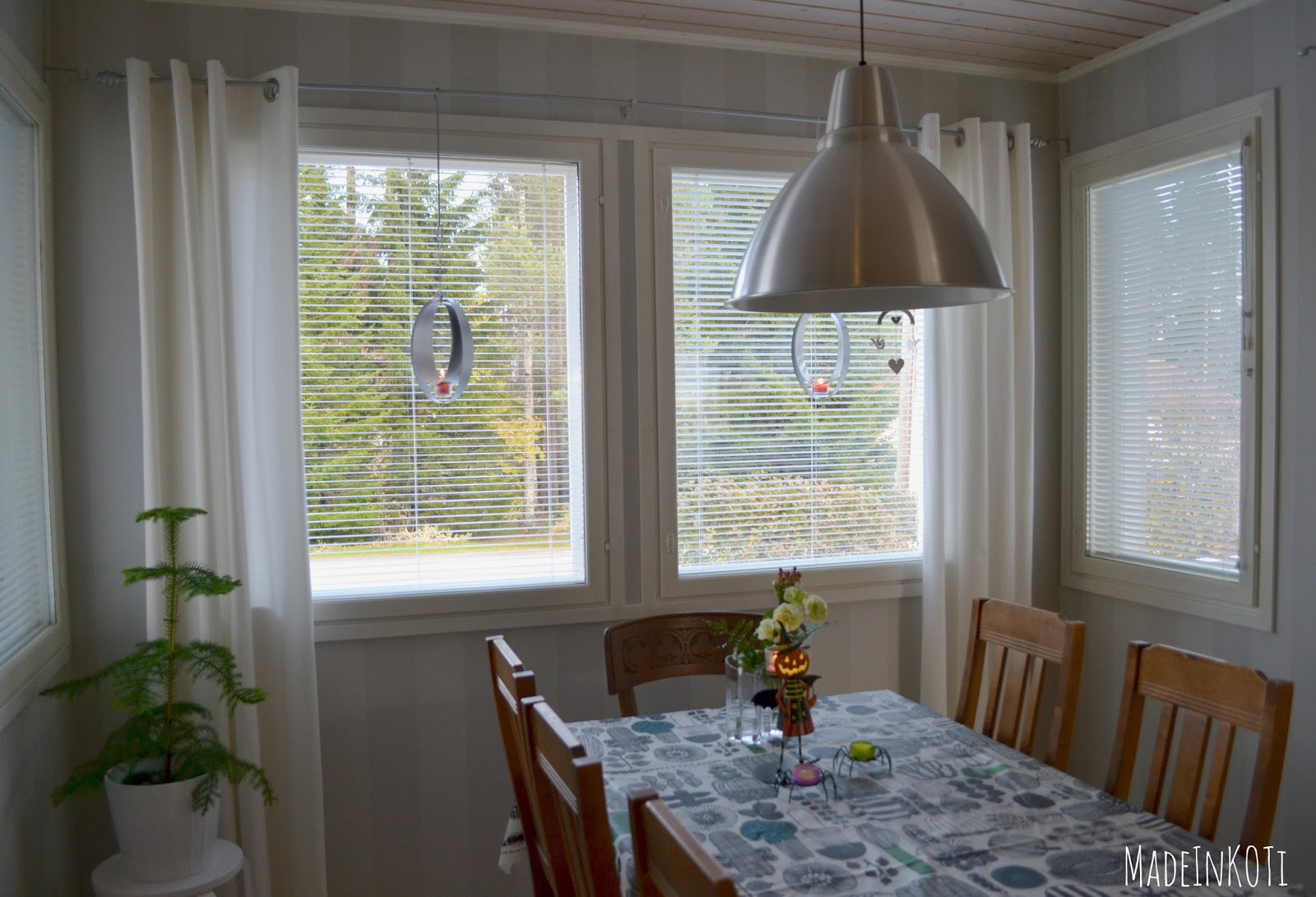 MadeInKoti Ikkunan pesua ja keittiön uutta ilmettä
