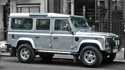 land rover td5 defender station wagon