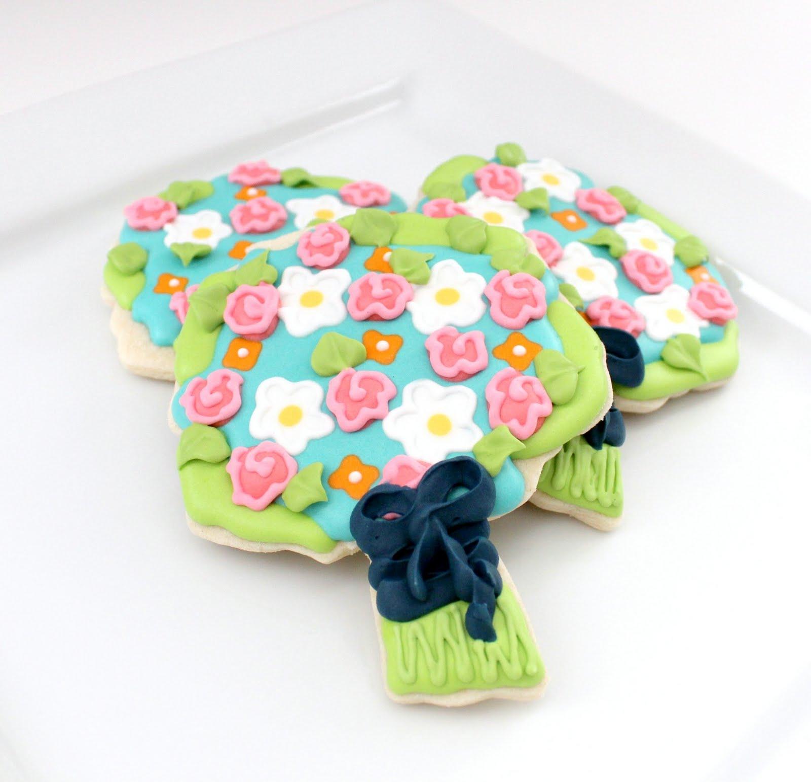 Wedding Bouquet Cookies – The Sweet Adventures of Sugar Belle