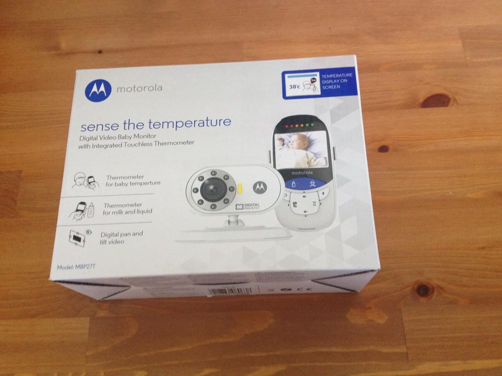 Review: Motorola MBP27T Sense The Temperature Digital Video Baby Monitor