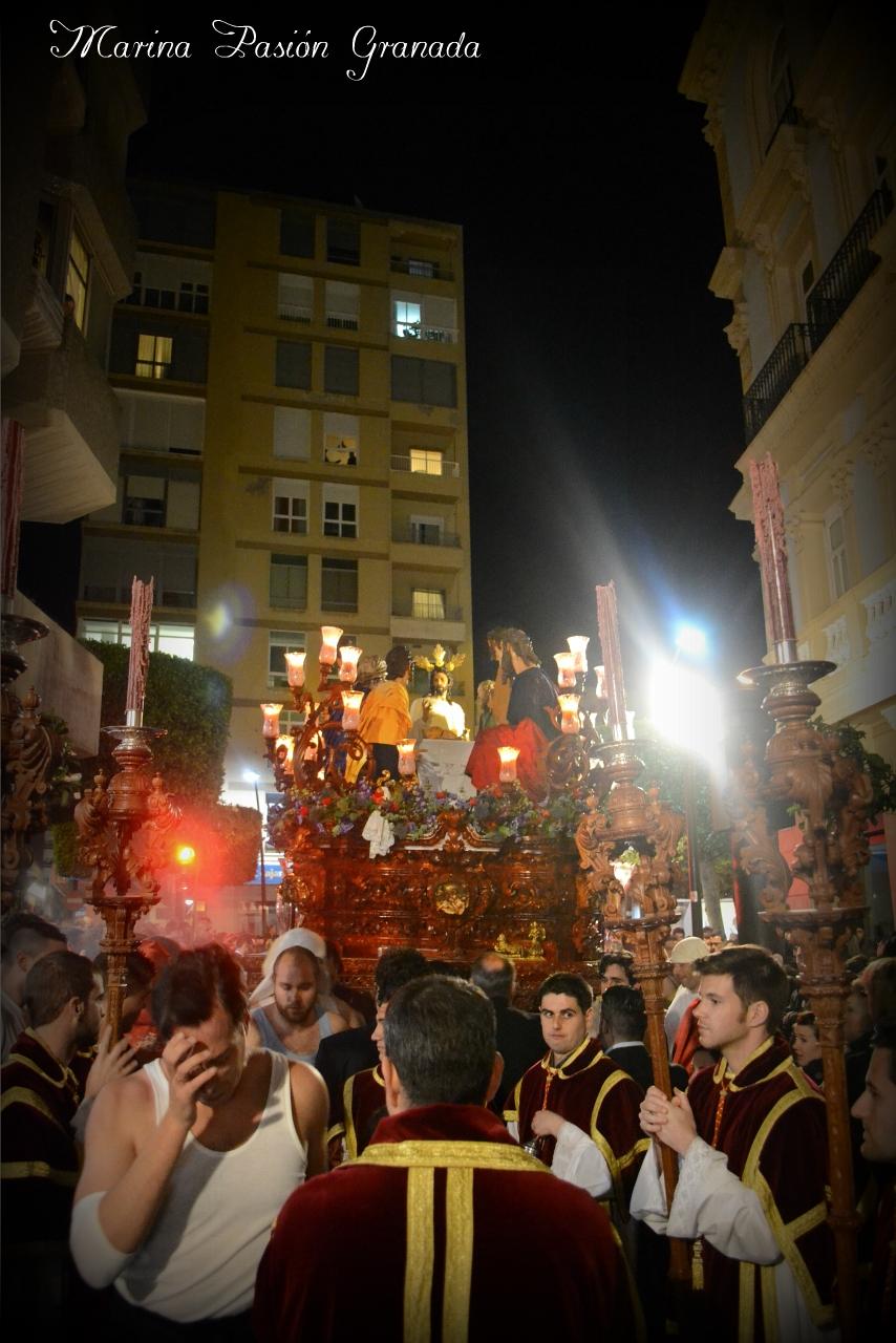 hermandad la santa cena almeria: