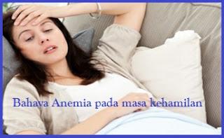 Anemia pada masa kehamilan, anemia pada ibu hamil