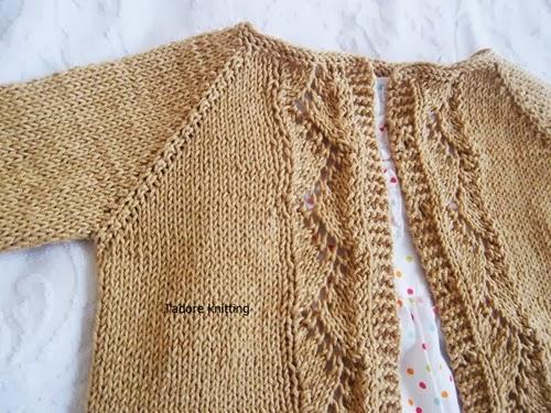 Jadore Knitting Vine Lace Cardigan