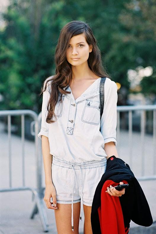 Vanessa Jackman: New York Fashion Week SS 2014.Hanneli