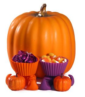 Decoracion de caramelos de halloween