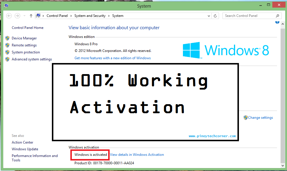 windows 8 product keygen generator