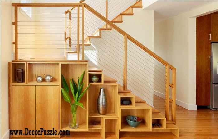 Innovative under stairs storage ideas and solutions, under stairs shelves
