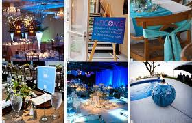 idées de décoration de mariage thèmes de mariage couleurs marque ...