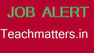 Job Alert - Teachmatters.in