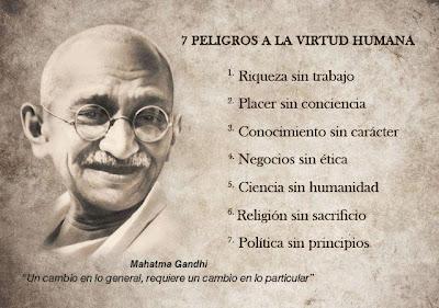 Mahatma Gandhi, Virtud Humana